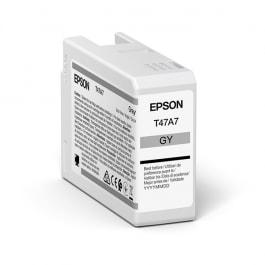 Epson Tinte T47A7 Grau, 50 ml
