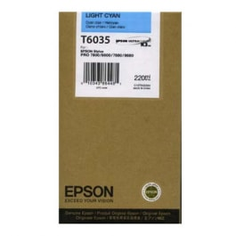 Epson Tinte T6035 Light Cyan, 220 ml