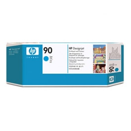 HP Druckkopf mit Reiniger Nr. 90 C5055A Cyan