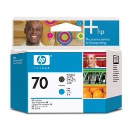 HP Druckkopf Nr. 70 C9404A Matt Black + Cyan