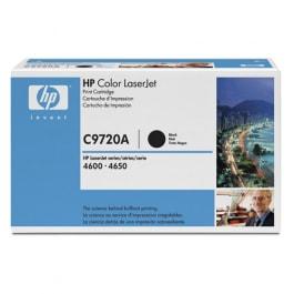 HP Toner C9720A Schwarz für Color Laserjet 4600 4650, 9k