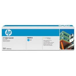 HP Toner Cyan CB381A für Color LaserJet CP6015 CM6030 CM6040, 21k