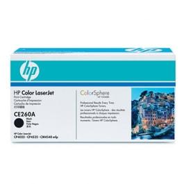 HP Toner Schwarz CE260A für Color Laserjet CM4540 CP4025 CP4525, 8.500 Seiten