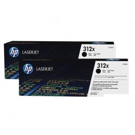 HP Tonerset 312X Schwarz CF380XD
