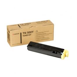 Kyocera Toner Kit TK-500Y Yellow für FS-C5016 Serie, 8.000 Seiten