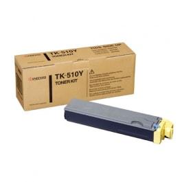 Kyocera Toner Kit TK-510Y, Yellow, für FS-C5020, 5025, 5030, 8.000 Seiten
