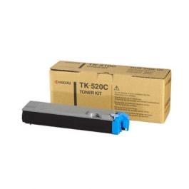 Kyocera Toner Kit TK-520C, Cyan, für FS-C5015, 4.000 Seiten