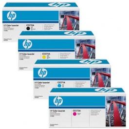 HP Toner-Set (Cyan, Magenta, Yellow, Schwarz) für CP5525