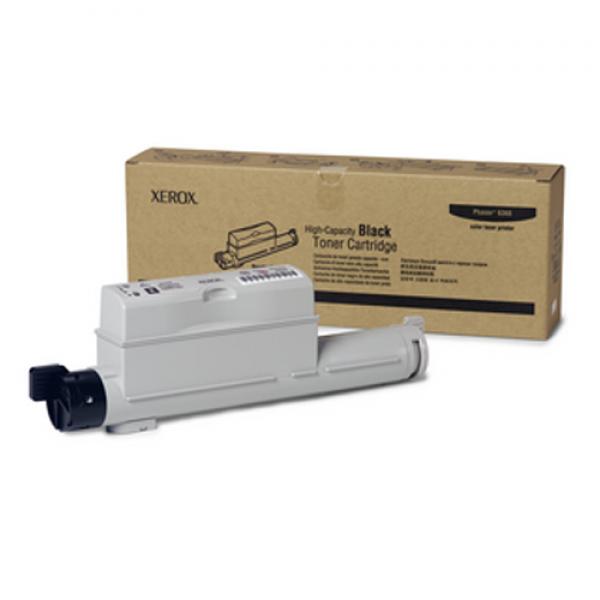 Xerox Hochleistungs-Toner für 6360 Schwarz 18k