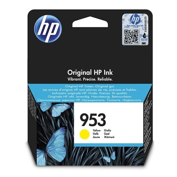 HP Tinte Nr. 953 Gelb F6U14AE