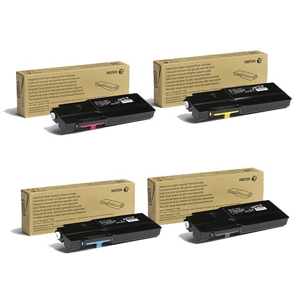 Xerox Tonervorteilspaket HC (Cyan, Magenta, Yellow, Schwarz) für VersaLink C400 C405