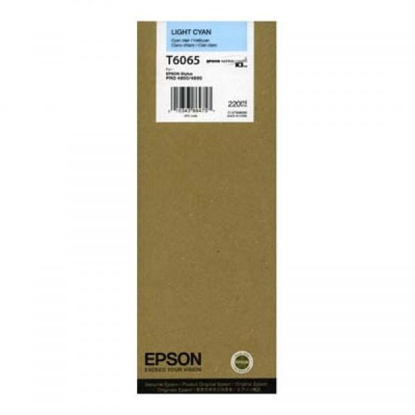Epson Tinte T6065 Light Cyan, 220 ml