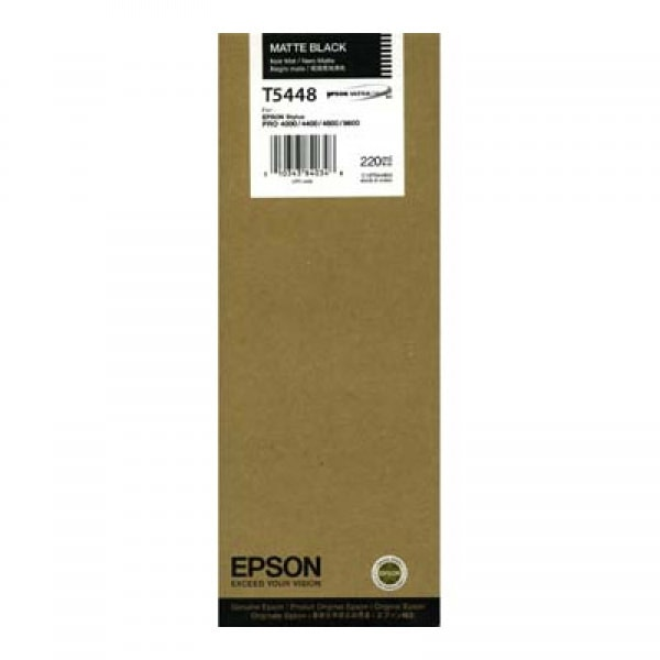 Epson Tinte T6148 Matt Black, 220 ml