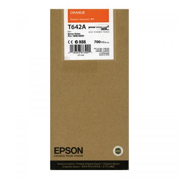 Epson Tinte T636A Orange UltraChrome HDR, 700 ml