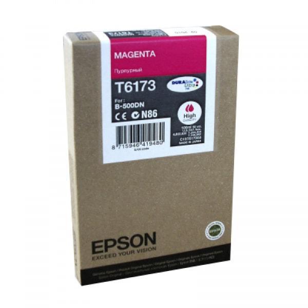 Epson Tinte T6173 Magenta HC, 100 ml