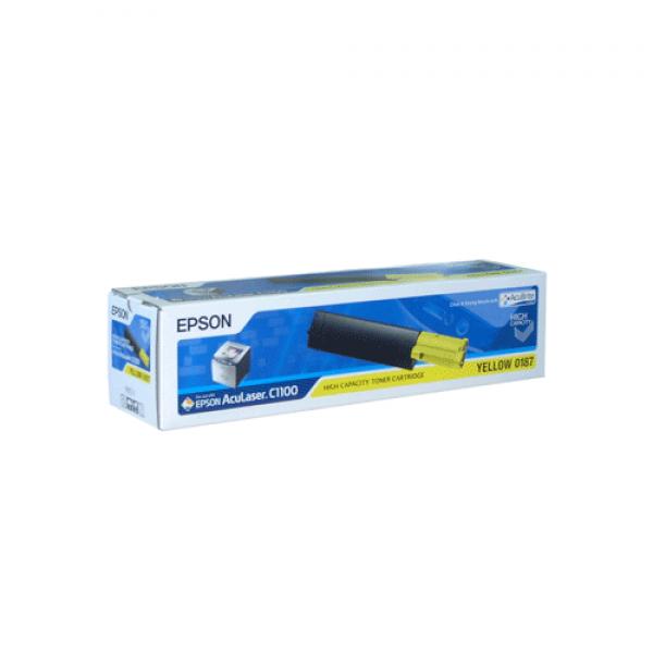 Epson Toner Yellow HC für C1100 CX11, 4.000 Seiten