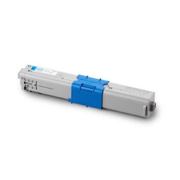 OKI Toner Cyan für C310 C330 C331 C510 C511 C530 C531 MC361 MC362 MC561 MC562, 2k