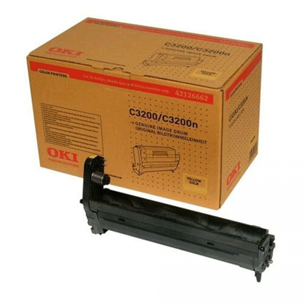 OKI Bildtrommel Yellow für C3200, 14k