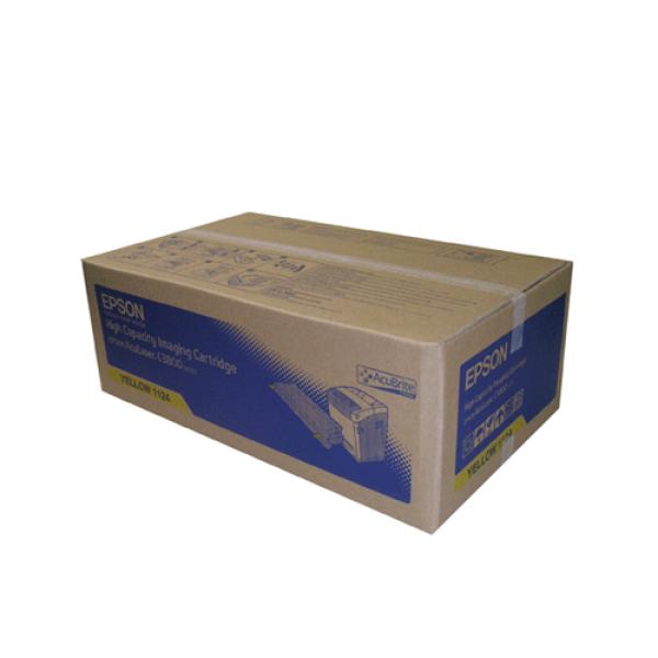 Epson Toner S051124 Yellow High Capacity für Aculaser C3800, 9k