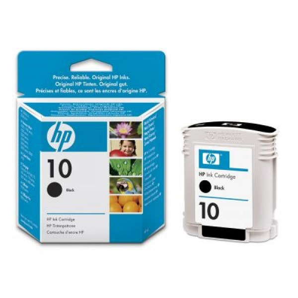 HP Tinte Nr. 10 C4844A Schwarz, 69 ml