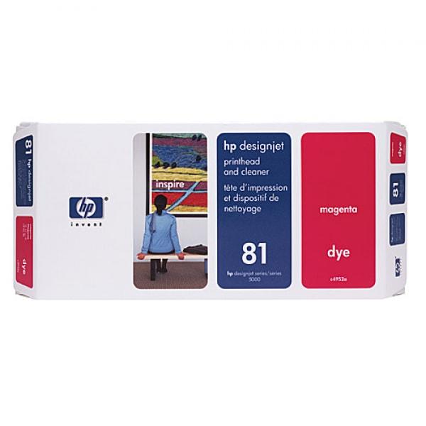 HP Druckkopf mit Reiniger Nr. 81 C4952A Magenta