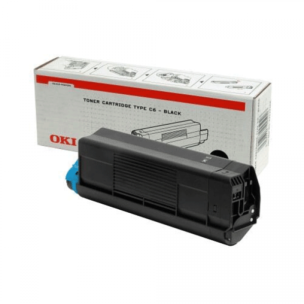 OKI Toner Schwarz für C5100 C5200 C5300 C5400, 5k