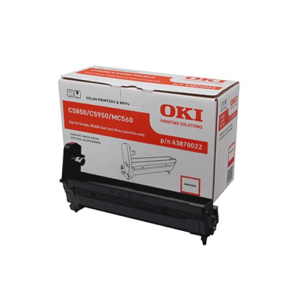 OKI Bildtrommel Magenta für C5850 C5950 MC560, 20.000 Seiten