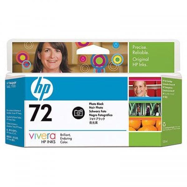 HP Tinte Nr. 72 C9370A Photo Black, 130 ml