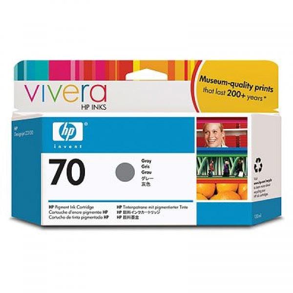 HP Tinte Nr. 70 C9450A Grey, 130 ml