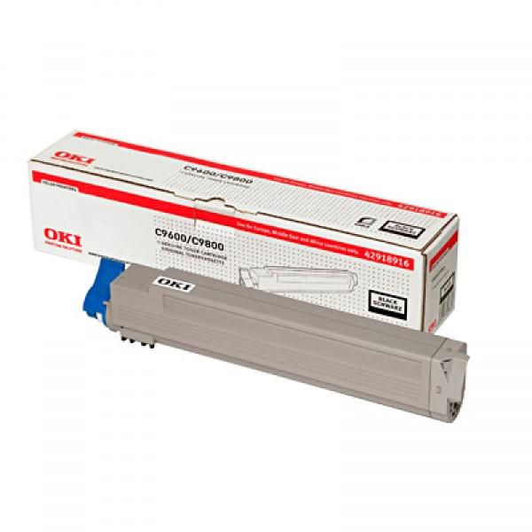 OKI Toner Schwarz für C9600 / C9650 / C9800 / C9850, 15.000 Seiten