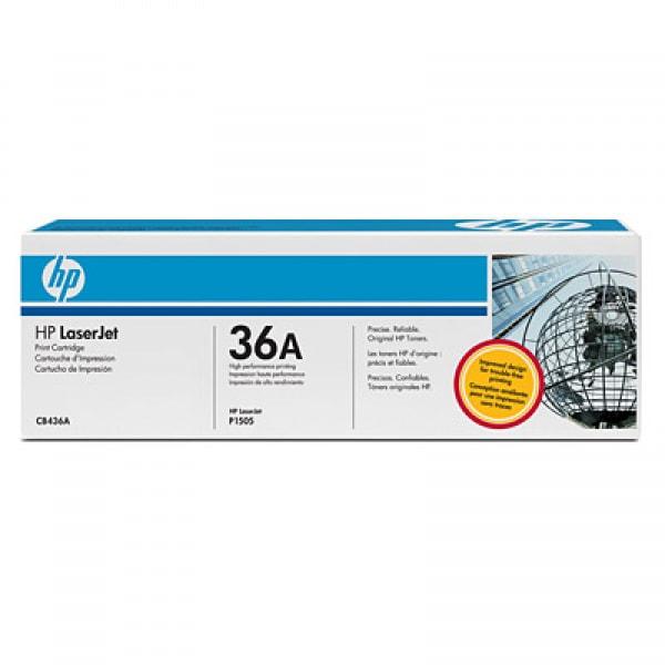 HP Toner CB436A Schwarz für P1505 M1120 M1522 2k