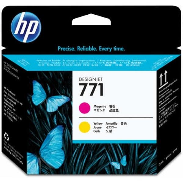 HP Druckkopf Nr. 771 CE018A Magenta + Yellow