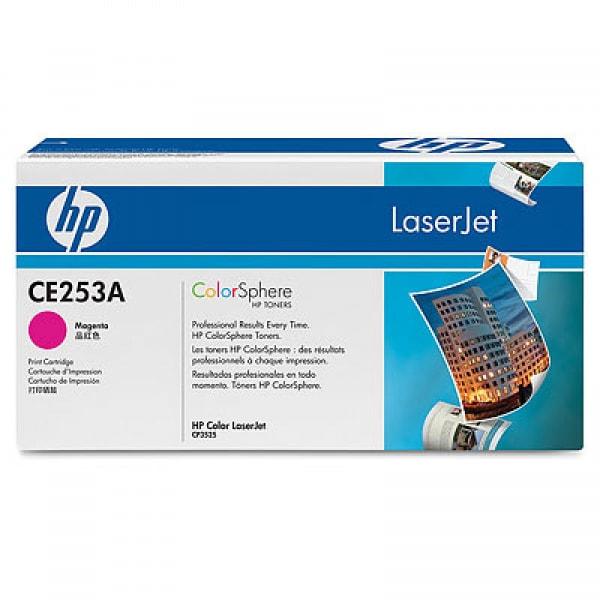 HP Toner Magenta CE253A für Color LaserJet CP3525 CM3530, 7k