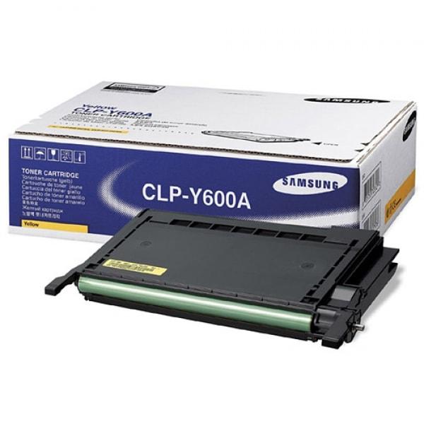 Samsung Toner Yellow für CLP-600 CLP-650, 4.000 Seiten