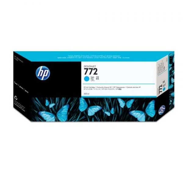 HP Tinte Nr. 772 CN636A Cyan, 300 ml