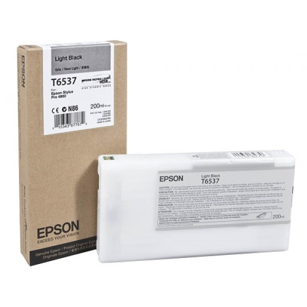 Epson Tinte T6537 Light Black