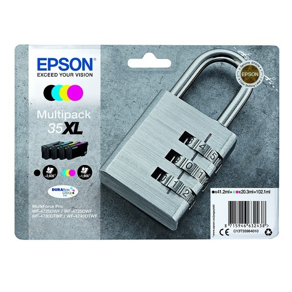 Epson Tinte 35XL Multipack CMYK