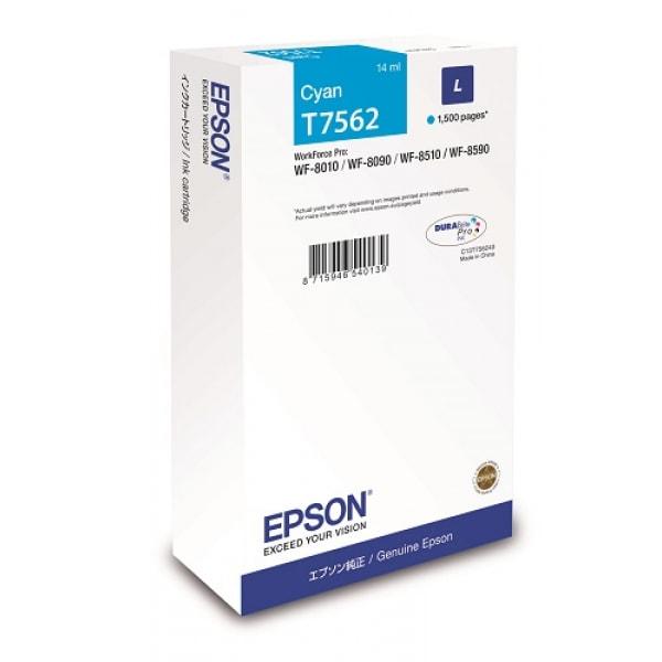 Epson Tinte T7562 Cyan L