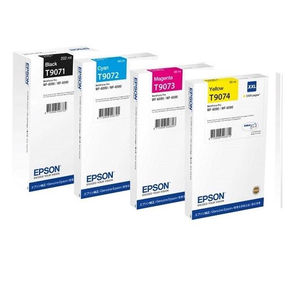 Epson Tintenset XXL für WF-6090 und WF-6590