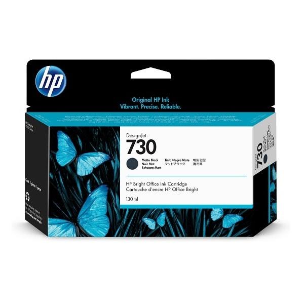 HP 730 DesignJet Tintenpatrone Mattschwarz 130 ml (P2V65A)