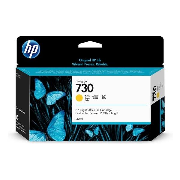 HP 730 DesignJet Tintenpatrone Gelb 130 ml (P2V64A)