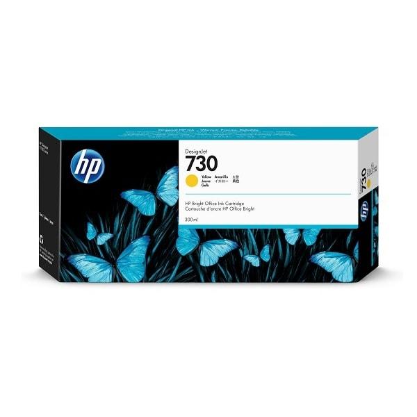 HP 730 DesignJet Tintenpatrone Gelb 300 ml (P2V70A)
