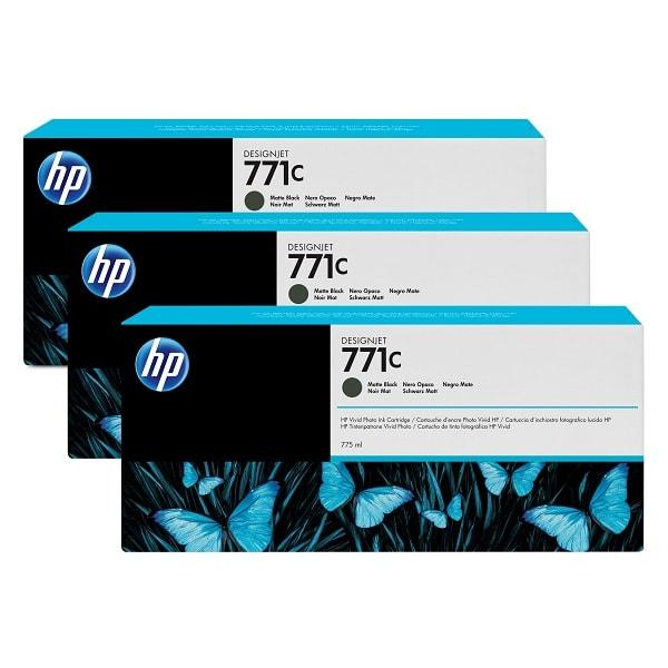 HP Tinte Multipack Nr. 771C B6Y31A Matte Black
