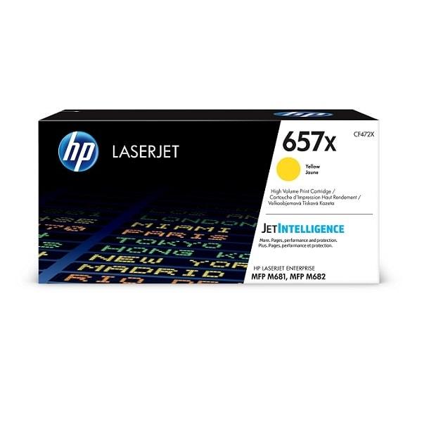 HP Toner 657X Gelb CF472X
