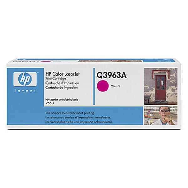 HP Toner Magenta Q3963A für Color LaserJet 2550 2820 2840, 4k