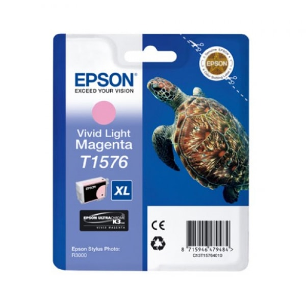 Epson Tinte T1576 Vivid Light Magenta, 25,9 ml
