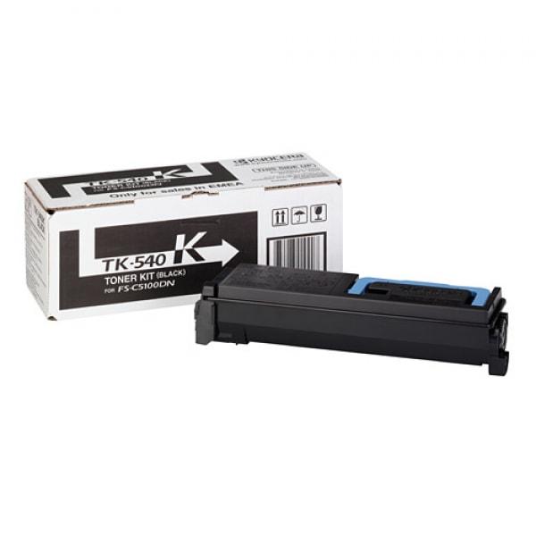 Kyocera Toner Kit TK-540K Schwarz für FS-C5100DN