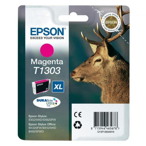 Epson Tinte T1303 Magenta XL DURABrite, 10.1 ml