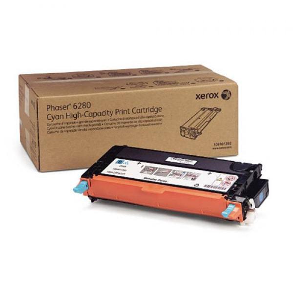 Xerox Toner Cyan HC für Phaser 6280, 6.000 Seiten