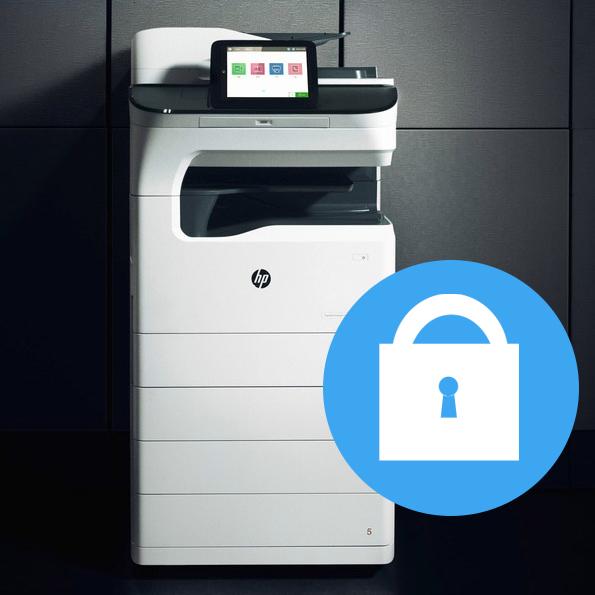 HP Sicherheit beim Drucken